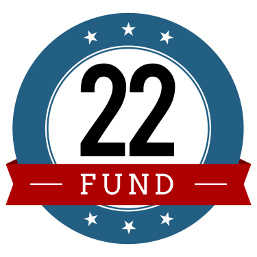 22 Fund Logo Red