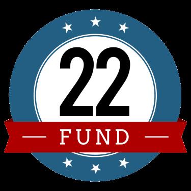 22 Fund Logo Red
