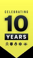 REBOOT 10 Years Badge